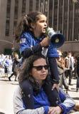 Нью-Йорк -го март на наши жизни, стоковая фотография