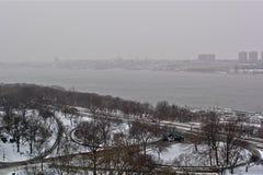 Нью-Йорк. Гудзон. Стоковая Фотография RF