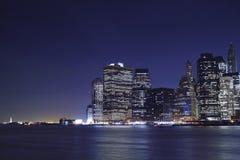 Нью-Йорк & дама Вольность стоковые фотографии rf
