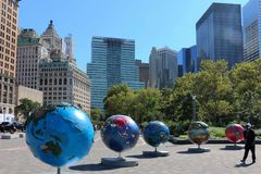 Нью-Йорк здания стоковая фотография rf