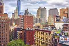 Нью-Йорк, Манхаттан Стоковое фото RF