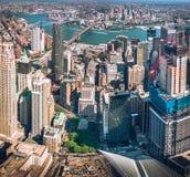 Нью-Йорк, Манхаттан Стоковые Фотографии RF