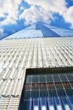 Нью-Йорк, Манхэттен один всемирный торговый центр Стоковая Фотография