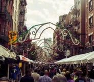 Нью-Йорк меньшая Италия стоковые фото