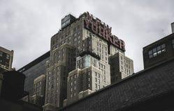 Нью-Йорк - новый знак Yorker Стоковое Изображение RF