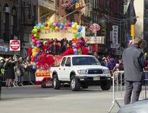 Китайский парад Новый Год в NYC Стоковое Изображение