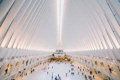 Нью-Йорк один всемирный торговый центр стоковые изображения