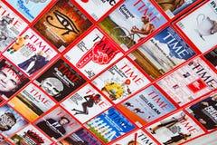 Нью-Йорк - 7-ое марта 2017: Журнал Тайм 7-ого марта в Нью-Йорке, Стоковое Изображение RF