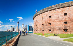 НЬЮ-ЙОРК - остров губернаторов Стоковая Фотография RF