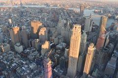 Нью-Йорк от верхней части стоковое изображение rf