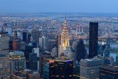 Нью-Йорк от Имперского штата Стоковое Изображение RF