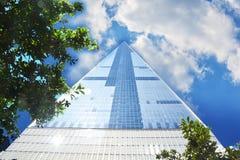 Нью-Йорк один всемирный торговый центр, США Стоковая Фотография