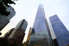 Нью-Йорк один всемирный торговый центр Стоковая Фотография RF