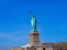 Нью-Йорк, статуя свободы, Манхаттан, остров свободы, США стоковое фото