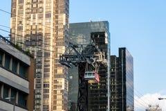 Нью-Йорк/США - 27-ое июля 2018: Небоскреб близкий вверх Lexing стоковые фото