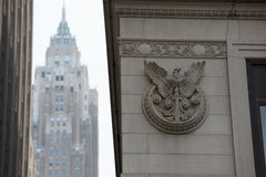 НЬЮ-ЙОРК - США - 11-ое июня 2015 Уолл-Стрит толпить людей Стоковые Изображения