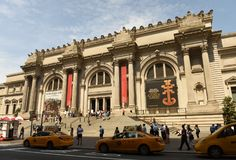 Нью-Йорк, США - 26-ое мая 2018: Столичный музей изобразительных искусств в новой стоковое фото