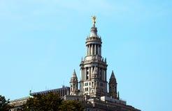 Нью-Йорк, США - 2-ое сентября 2018: Городская ратуша в NYC стоковые фотографии rf