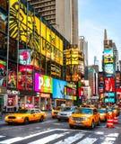 Нью-Йорк, Таймс площадь, США Стоковые Фотографии RF