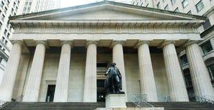 Нью-йорк федеральный Hall Стоковые Изображения