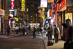 Нью-Йорк - Чайна-таун Стоковое фото RF