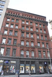 Нью-Йорк, 3-ье августа: Здания Бродвей исторические от Манхаттана в Нью-Йорке Стоковое Изображение