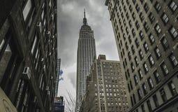 Нью-Йорк - Эмпайр Стейт Билдинг Стоковое Изображение