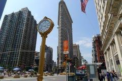Нью-Йорк - Flatiron Стоковая Фотография RF