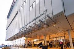 Нью-Йорк, NY/объединенные положения 9-ое декабря 2018: Музей Whitney Amer стоковое фото