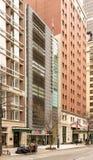 Нью-Йорк, NY/Соединенные Штаты - повредите 25, 2019: Вертикальный взгляд †дома Скандинавии «нордический центр в Америке на парк стоковая фотография