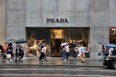 Нью-Йорк Prada Стоковая Фотография