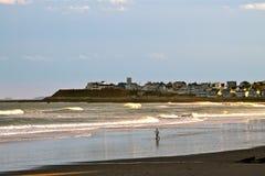 Нью-Хэмпширский берег моря Стоковое Фото