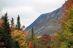 Нью-Хэмпширский горы осенью стоковое фото rf