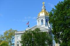 Нью-Хэмпширский дом положения, согласие, NH, США стоковое фото