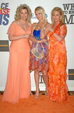 Нэнси Davis, Париж Hilton, Kathy Hilton Стоковые Изображения RF