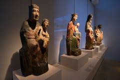 Нюрнберг, Германия - 5-ое июня 2016: Собрание средневекового sculp Стоковая Фотография