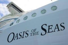 Оазис морей Стоковое Изображение