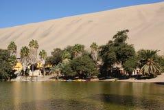 оазис Перу huacachina Стоковые Фото