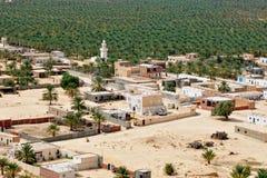 оазис пустыни Стоковые Изображения
