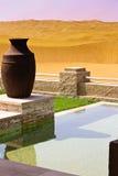 Оазис Liwa, Абу-Даби Стоковые Фото