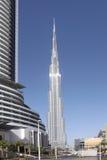 ОАЭ Дубай мир UAE башни khalifa Дубай burj самый высокорослый стоковое изображение rf