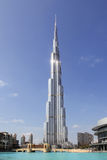ОАЭ. Дубай. Burj Khalifa стоковое фото