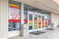 Обанкротившийся магазин розничной торговли Стоковые Изображения RF