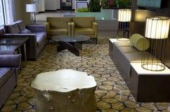 лобби гостиницы самомоднейшее Стоковое Изображение