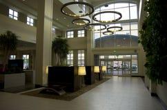 лобби гостиницы самомоднейшее Стоковые Фото