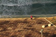 Обваловка спорт на море Нетаньи стоковое фото rf