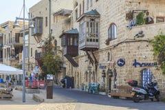 Обваловка старой Яффы, Израиля Стоковое Фото