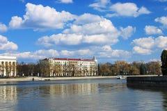 обваловка minsk зданий Беларуси Стоковое Изображение RF