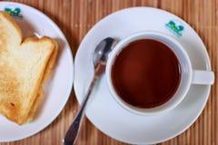 обвалите кофе в сухарях Стоковое Изображение RF