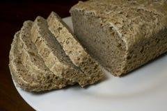 обвалите отрезанный sourdough в сухарях Стоковая Фотография RF